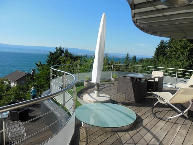 L'Escale - Fantastic view on the Geneva Lake - Thonon-les-Bains - Leilighet