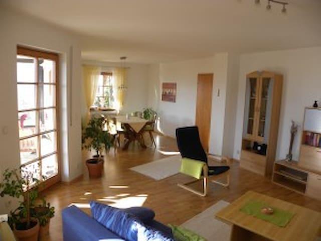Ferienwohnung mit toller Aussicht - Mühlheim an der Donau - Appartement