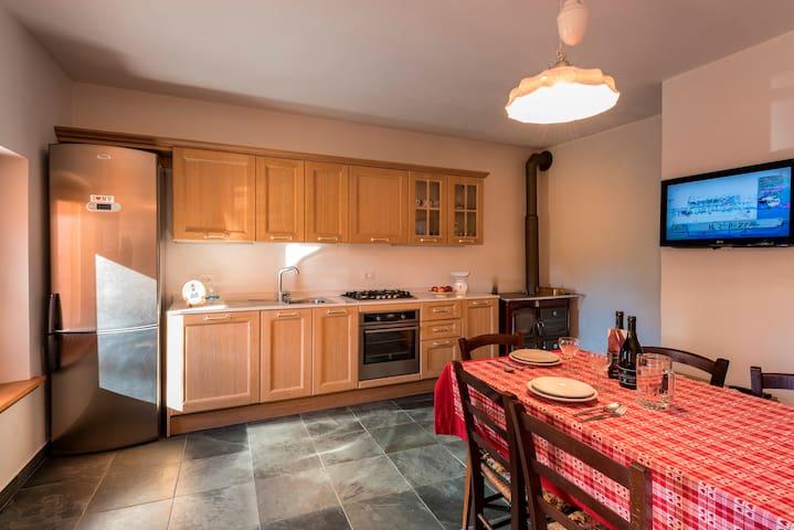 House Val dai Poz -romantic home for couples - Forgaria Nel Friuli - Ev