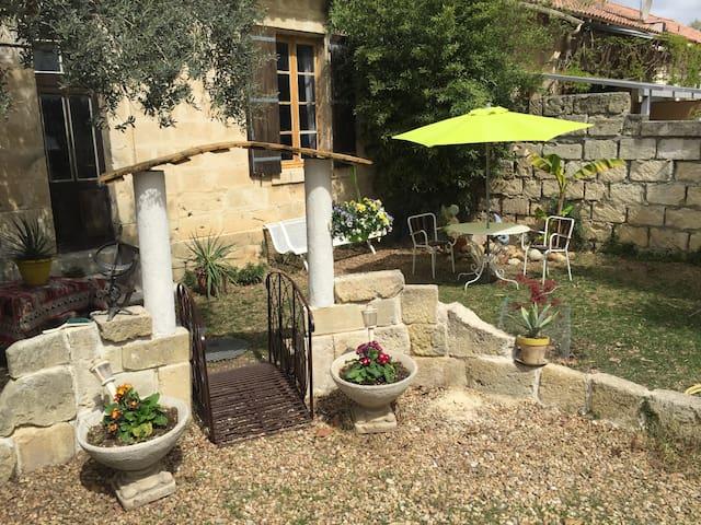 Petit appartement avec jardinet - Calvisson - Apartemen