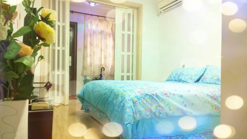 鼓楼中心,温馨的46平米单室套,一室一厅一厨一卫,出行方便,配套齐全。 - Nanjing - Huoneisto