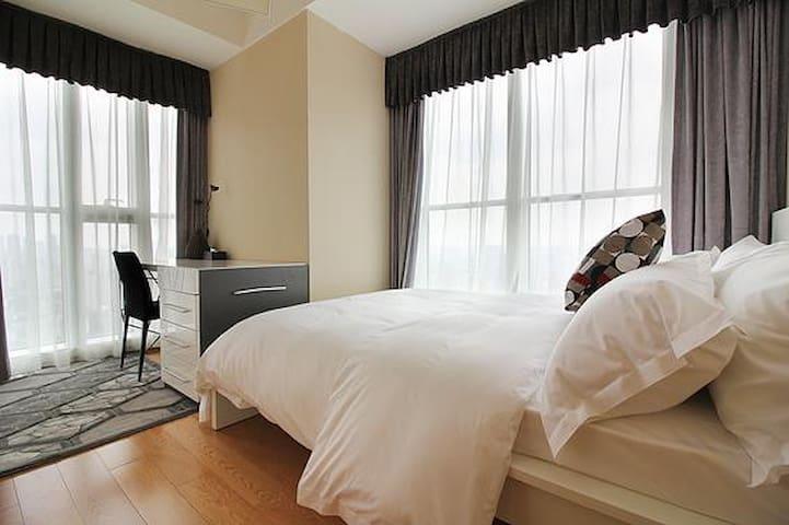 给您家的感觉(全新装修高档公寓) - Jinhua Shi - Apartemen