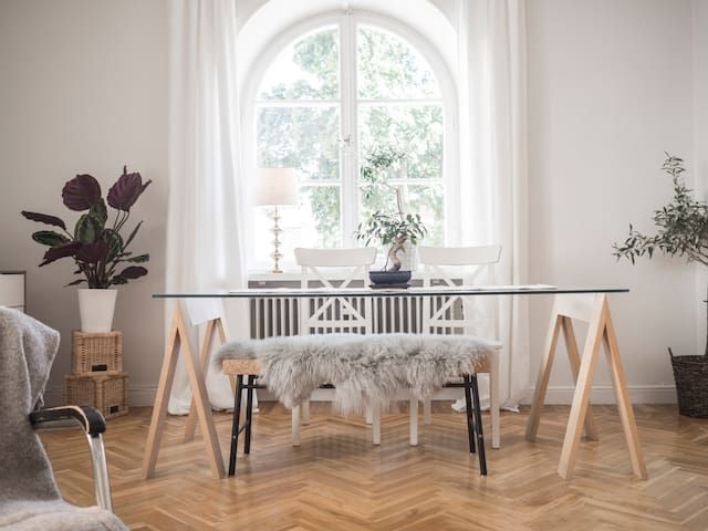 Charming and bright 70Sq.m flat in Vasastan - Stockholm - Leilighet