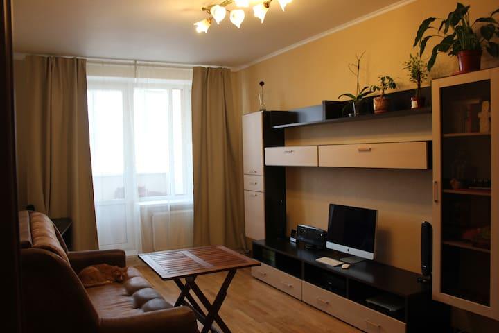 Cozy apartment on Nevskiy District - Sankt-Peterburg - Casa
