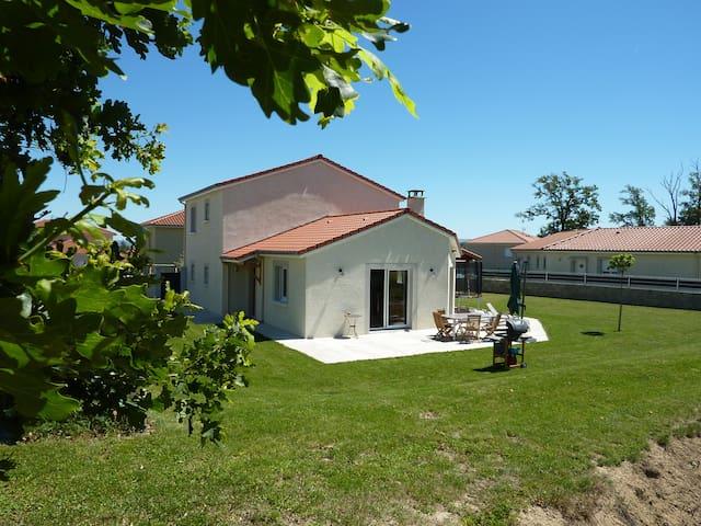 Deux chambres à 15min de St-Étienne - Saint-Marcellin-en-Forez - Hus