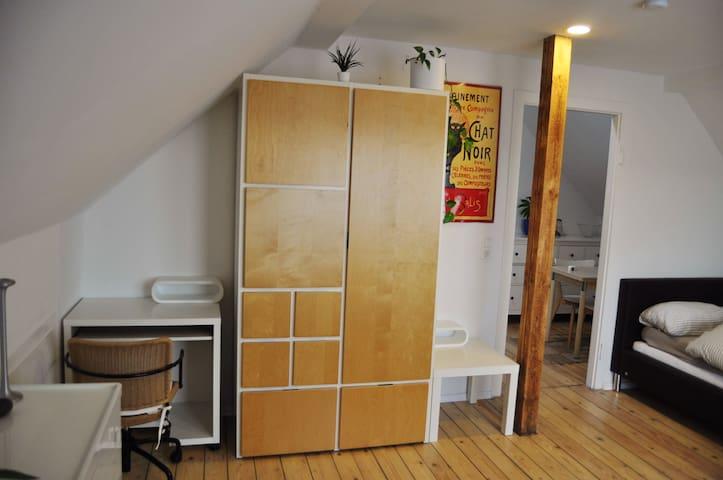 1,5 Zimmer Dachwohnung/Appartement - Ginsheim-Gustavsburg - Daire