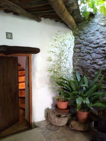 Restored granary in Sierra Nevada - La taha, Granada - Hus