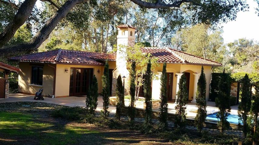 Peaceful Tuscan Casita - Montecito