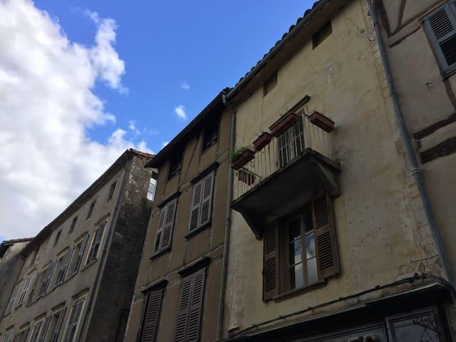 Medieval - With gorgious view - Saint-Antonin-Noble-Val - Lägenhet