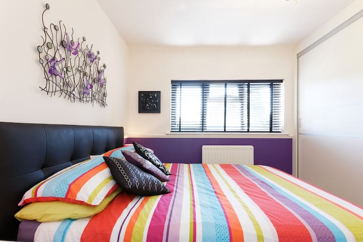 Purple Room with garden in Eltham, Greenwich - Londres - Apartamento