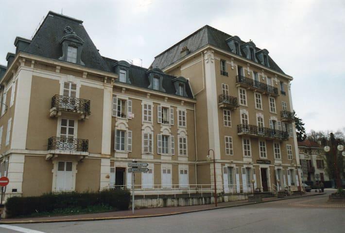 Bel appartement à Vittel face au parc des Thermes - Vittel - Lägenhet