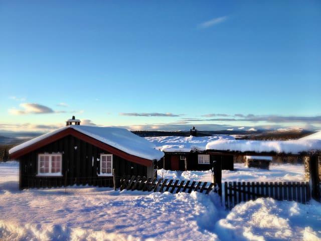 Hytte på Pulla Seter - Ringebu - Houten huisje