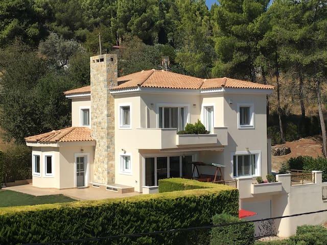 Villa Forest - Athens Afidnes Kosmothea  - 별장/타운하우스