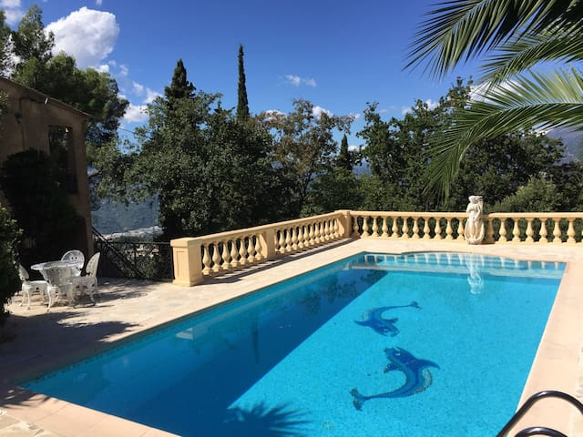 Magnifique Villa Provençale avec Piscine et Jardin - Castagniers - 別墅