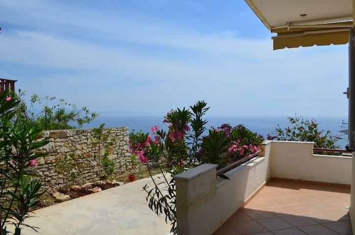 Sea View Apartment with Garden in Qeparo - 074 - Qeparo