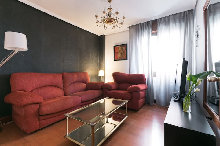 Central apartment in Bilbao near metro and bus - Bilbo - Özel oda
