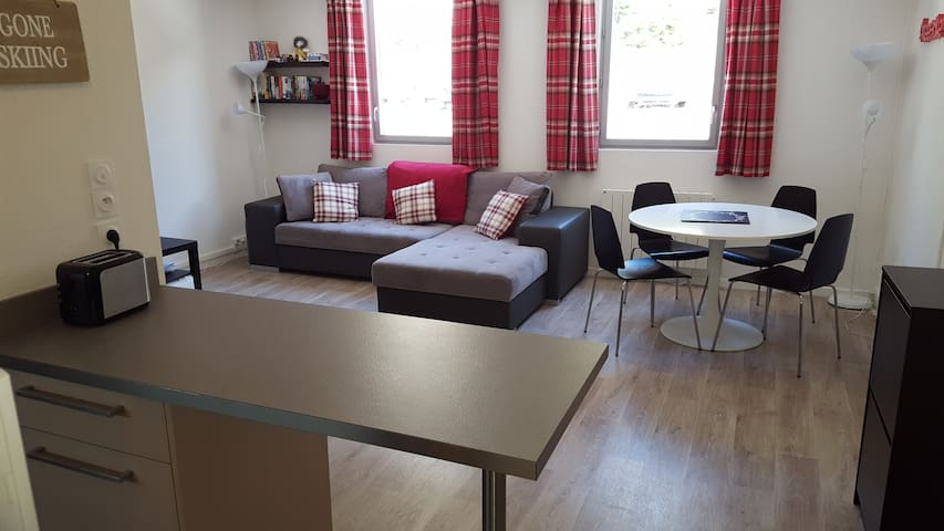 New 4 pers apartment Flaine centre - Cluses - Lägenhet