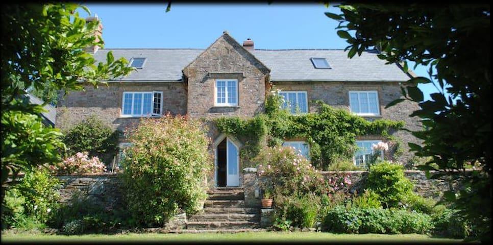 Haddon End, edge of Exmoor - Somerset - Hus