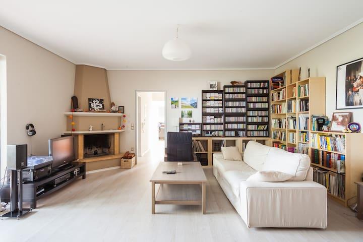 Beautiful apartment near Metro - Agia Paraskevi - Appartement
