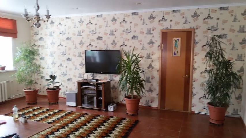 Уютная комната в коттедже рядом с М-7 в г. Казани - Kazan - Casa