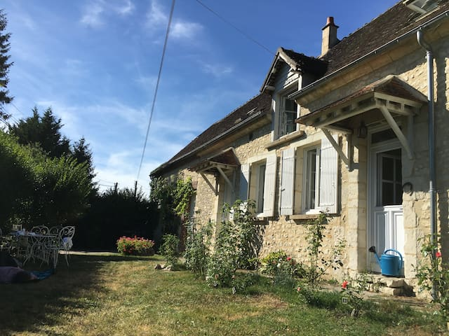 Maison familiale dans le Perche, 5 chb/8 adultes - Dorceau - Hus