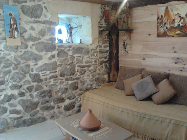 Bivouac tipi land - Le Soulié - Casa