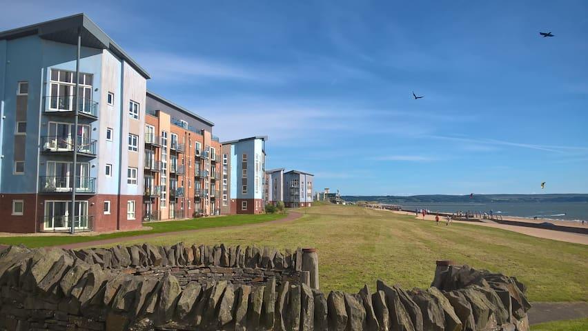 Stylish Coastal Park Apartment - Llanelli - Wohnung
