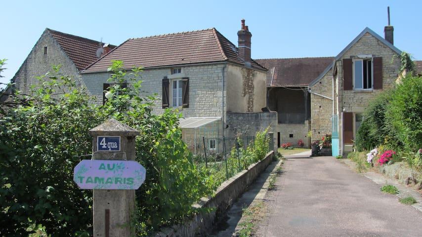 Chambre en ferme bourguignonne - 1 - Lézinnes - Pension