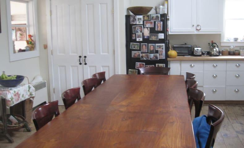 WINTER WONDERLAND: Quaint Cozy Home in Berkshires - Sheffield - Maison