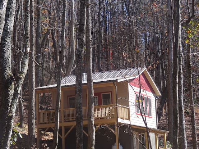 Back to Nature Mtn Cabin--solar powered - Boone