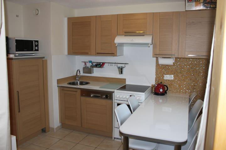 Appartement entièrement rénové de 6  personnes - Arâches-la-Frasse - Apartamento
