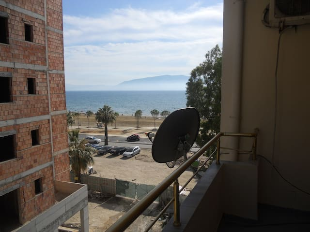 Side Sea view apartament Onorato 2 - Vlorë - Lägenhet