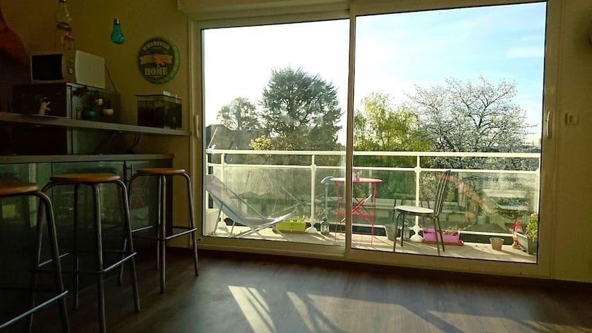 Duplex 80m2 Proche Paris - Eaubonne - Квартира