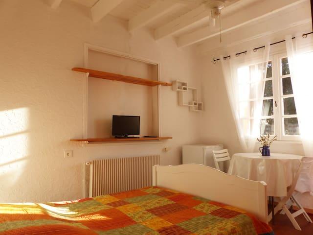 Belle chambre dans Mas avec piscine - Saint-Siffret - Lägenhet