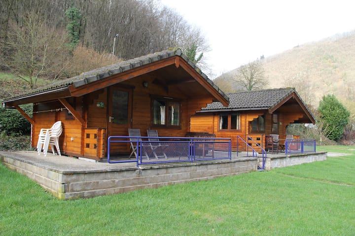 Trekkershut aan rivier ( SAM ) - Bourscheid-Moulin - Hut