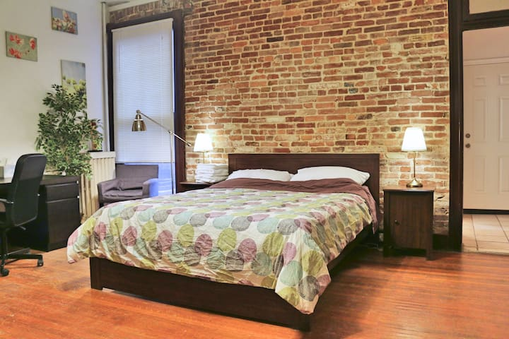 Your Sweet Studio Away From Home @ Charles Village - Baltimore - Daire