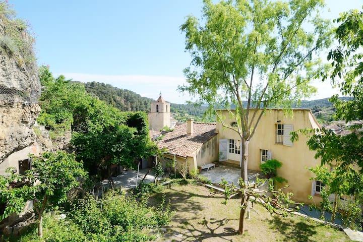 Grande Maison provençale avec un grand jardin - Barjols - タウンハウス