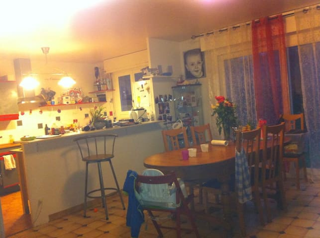 maison familiale à 45 min de Paris - Limay - Rumah