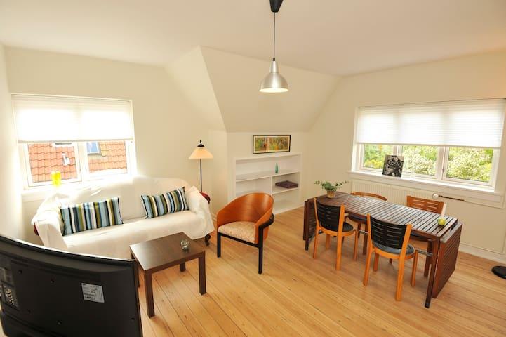 Lys og skøn lejlighed med perfekt beliggenhed. - Kerteminde - Apartamento