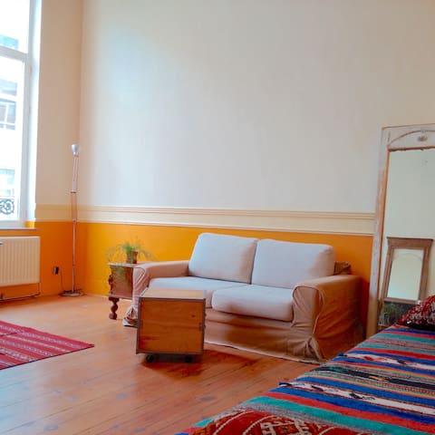 Appartement meublé, bien situé. - Ixelles - Appartement