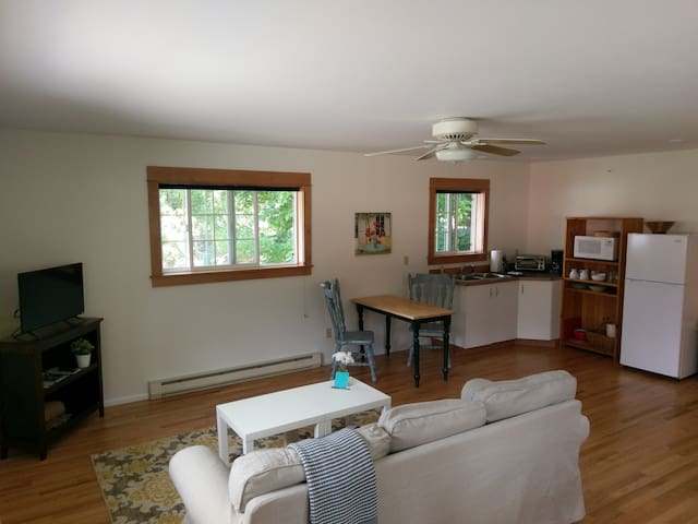 Bright, clean, downtown Leavenworth apartment - Leavenworth