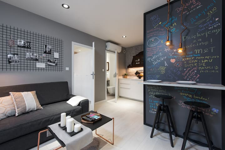 Designer apartment, Jewish district - Kraków - Leilighet