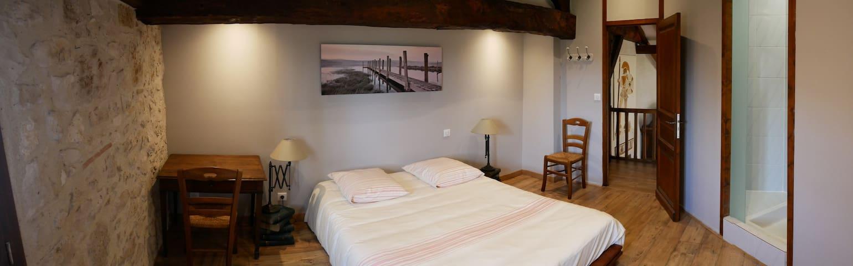 Chambre calme et rénovée à la campagne - Gaujac - Rumah