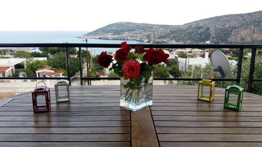 Seaview Beach House Near Athens 20min from Airport - Keratea - Villa
