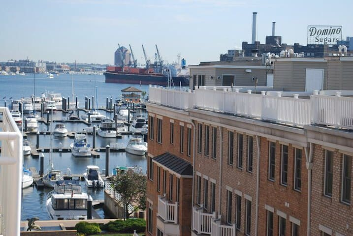 Scenic Harbor Views in Luxury Condo - Baltimore - Departamento
