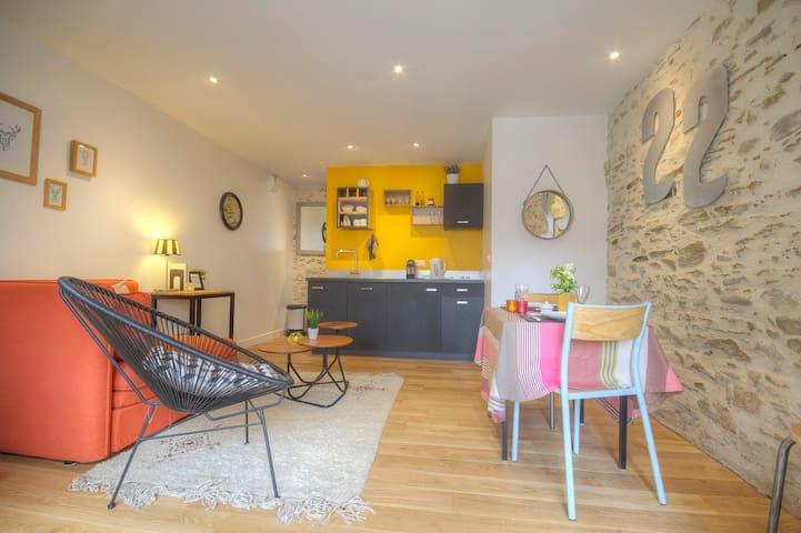 Duplex 35 m² à Trentemoult - Rezé - Appartamento
