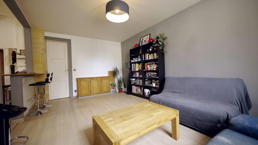 appartement lumineux, fonctionnel,  centre ville - Compiègne - Lägenhet