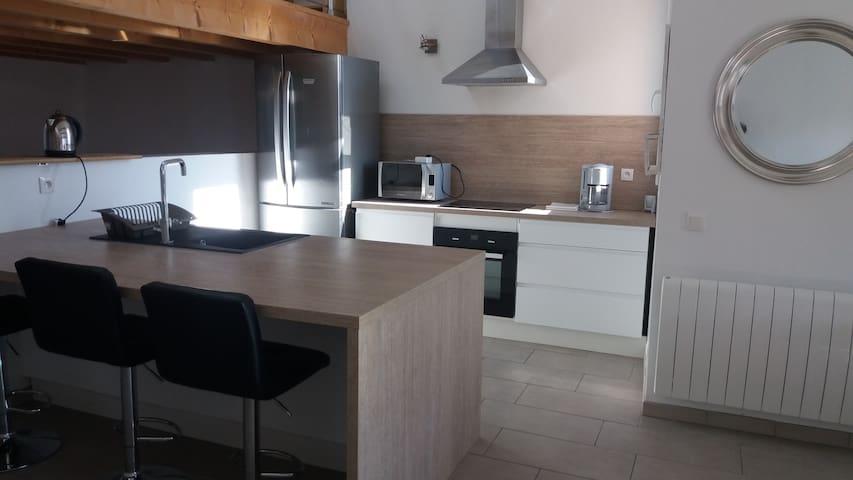 Appartement idéal cures et vacances, accès wifi - Banyuls-dels-Aspres - Lägenhet