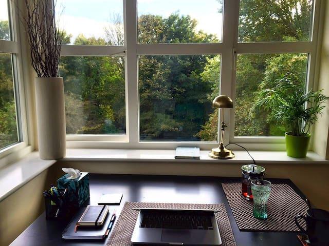 Bright, modern 1BR flat close to town centre - Durham - Apartamento