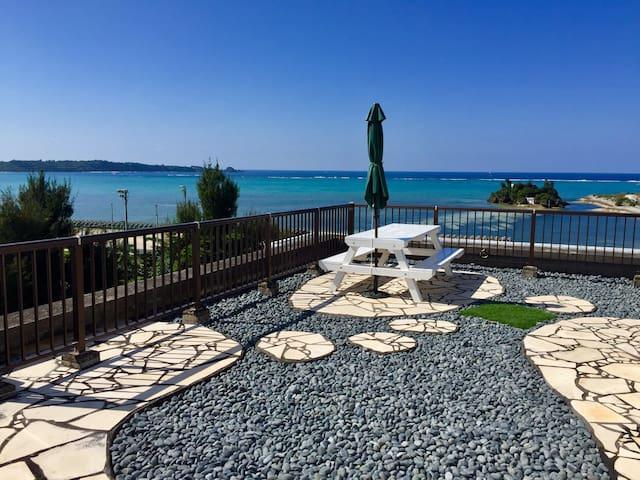 Okinawa Seaside Penthouse 恩納村ペントハウス - 国頭郡 - Apartemen